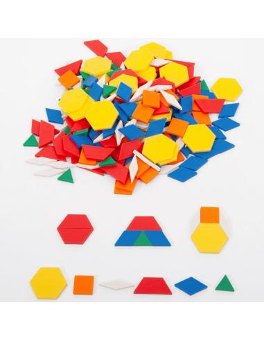 Attrimaths (250 pièces) - Jeu de pavage géométrique Edx education Matériel éducatif et pédagogique {PRODUCT_REFERENCE}  Géométri