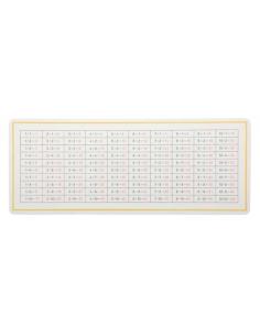Tableau table contrôle soustraction materiel montessori didactique