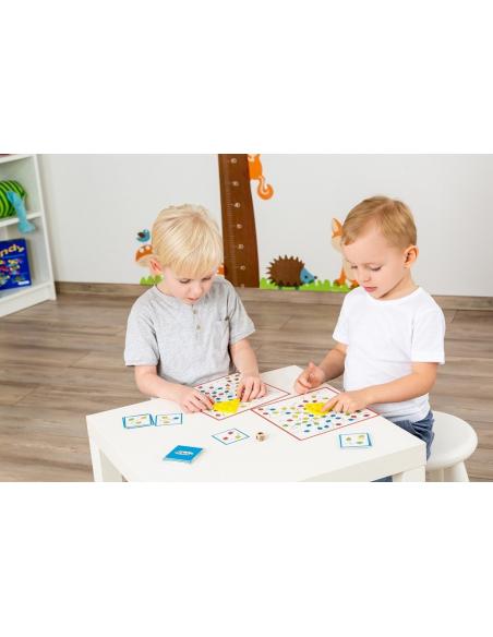 Tempo Toni  Jeu d'observation Beleduc societe jouet enfant apprendre fromage souris motricite fine repere spatiale ludotheque or
