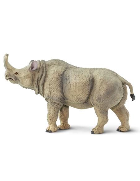 Figurine Megacerops - Préhistoire et dinosaure educatif safari materiel pedagogique montessori jouet collection carte nomenclatu