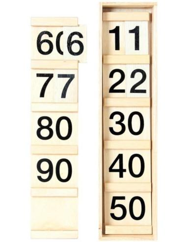 Deuxième table de Seguin materiel montessori mathematique numeration nombre apprendre activité ecole
