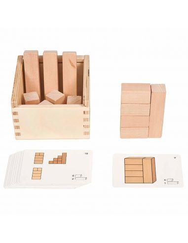 Block in sight materiel scolaire geometrie plan vue perspective ecole primaire materiel scolaire montessori ecole primaire colle