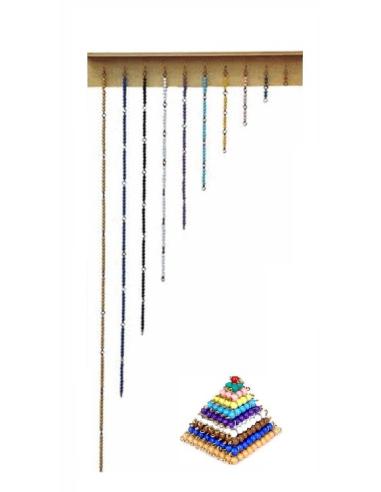 pyramides et chaîne courtes des perles Montessori france classe de achat boutique