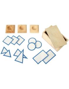 Bases solides géométriques geometrie materiel montessori didactique