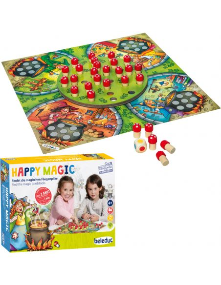 Happy Magic jeu societe mémoire attention couleurs Beleduc 22700 materiel educatif ecole maternelle primaire ludotheque apprendr