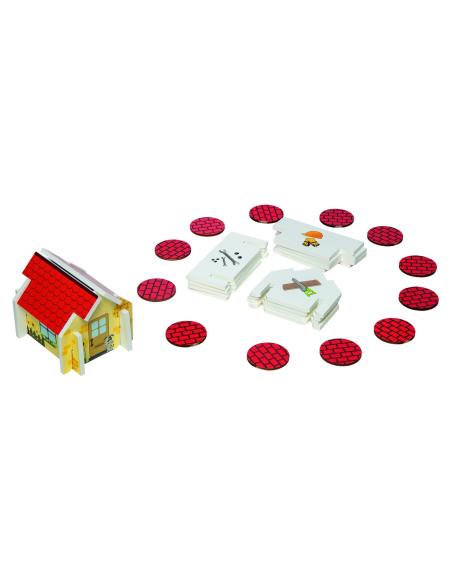 Smart Builders Beleduc 22521 Jeu vocabulaire outil chantier maison motricité memory materiel jouet educatif pedagogique ecole
