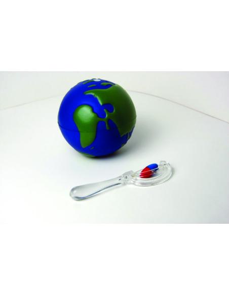 globe magnetique aimant terre terrestre science pole materiel educatif pedagogique science
