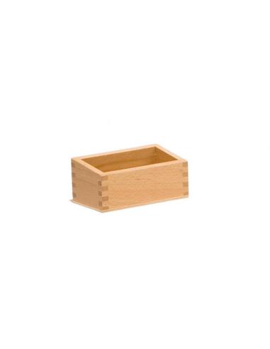 Boîte en bois pour ranger des cartes de nomenclature ou chiffres  LesMinis Montessori {PRODUCT_REFERENCE}  Mathématiques - 2