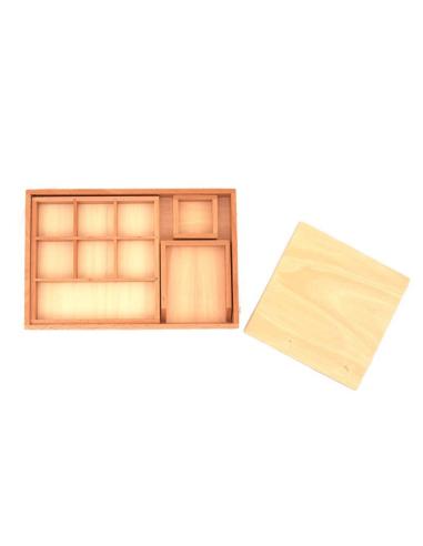 Plateau de collage et découpage motricite fine materiel montessori didactique vie pratique