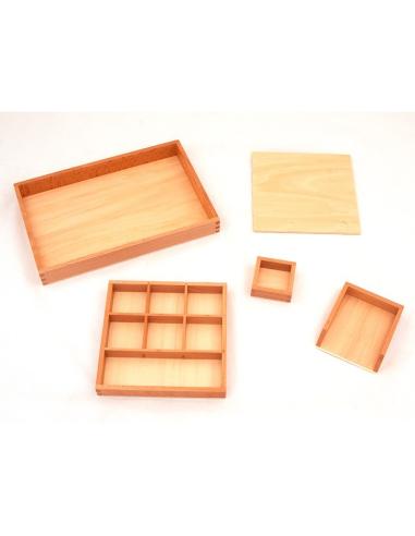 Plateau de collage et découpage - Vie pratique Montessori LesMinis Montessori {PRODUCT_REFERENCE}  Beaux arts - 2