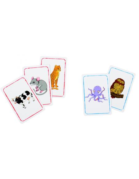 Animal Confusion 22780 jeu de carte science mime paire decouverte vocuabulaire beleduc materiel educatif scolaire pedagogique