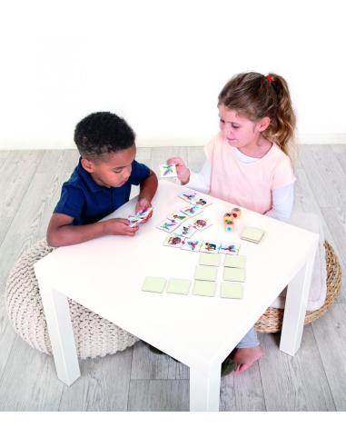 BirdyBirdy jeu societe association oiseau decouverte faune correspondance domino de carte materiel educatif pedagogique jouet en
