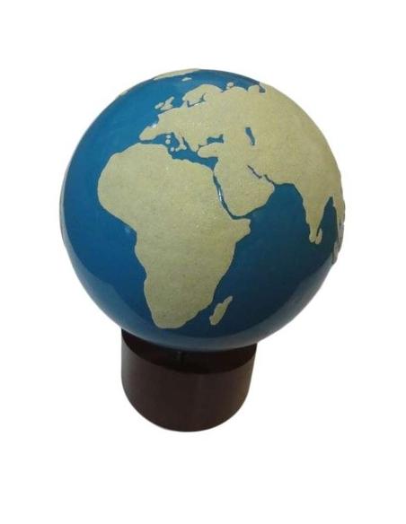 Globe rugueux terre & mer materiel montessori didactique