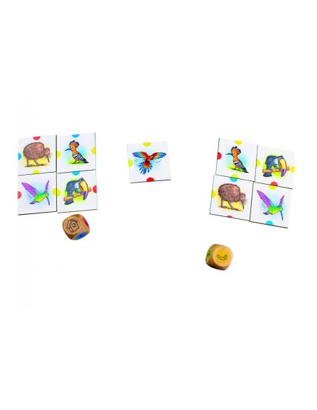 Birdy beleduc jeu societe association oiseau decouverte faune correspondance domino de carte materiel educatif pedagogique jouet