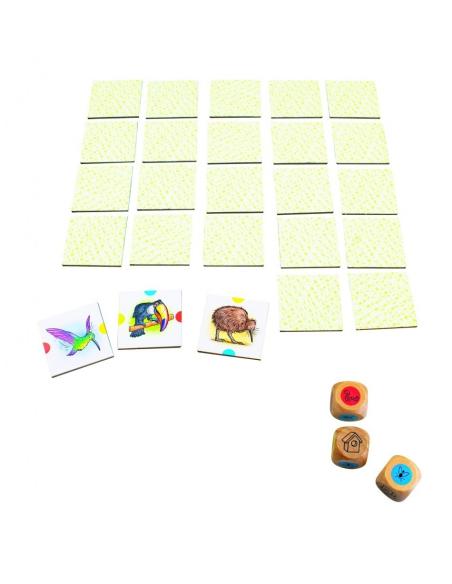 beleduc Birdy jeu societe association oiseau decouverte faune correspondance domino de carte materiel educatif pedagogique jouet