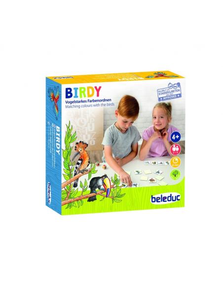 belesuc Birdy jeu societe association oiseau decouverte faune correspondance domino de carte materiel educatif pedagogique jouet