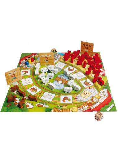 Happy Farm jeu mathematique strategie ferme materiel pedagogique montessori ecole educatif beleduc ludo