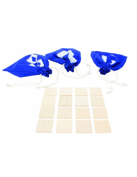 Tastaro jeu tactile sensoriel beleduc reconnaissance association formes materiel educatif didactique pedagogique sac jouet bois