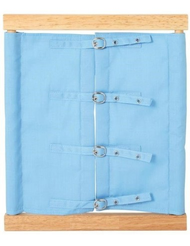 Cadre de vie petites boucles de ceinture materiel montessori didactique