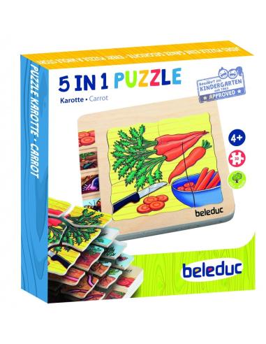 Puzzle étages croissance Carotte materiel educatif science scolaire pedagogique legume ddm