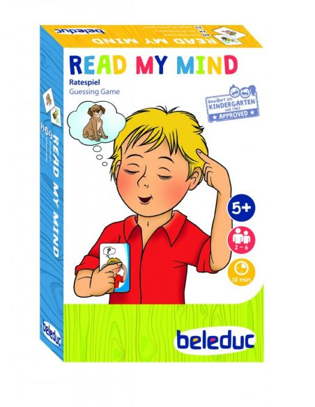 Read My Mind jeu societe cartes qui est ce devinette vocabulaire dessins memory beleduc ludo educatif