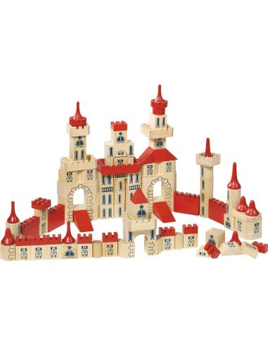 jeu construction chateau jouet libre france bois goki materiel educatif coin classe teampe theme bloc fort