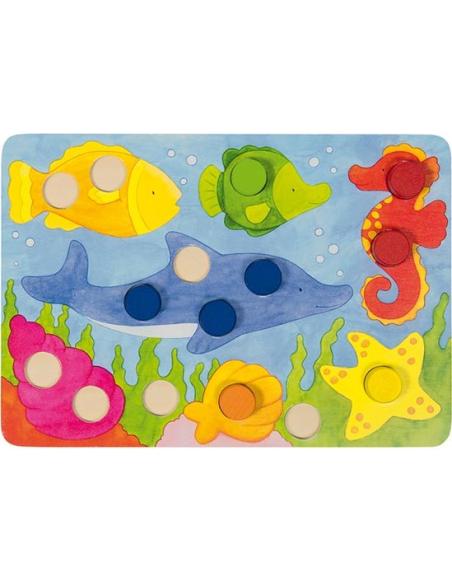 Loto couleurs jeu association goki correspondance paire apprendre materiel educatif pedagogique ecole maternelle teampe