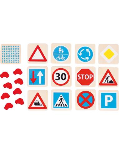 Jeu des panneaux de signalisation - Sécurité routière Goki {PRODUCT_REFERENCE}  Éducation civique - 2