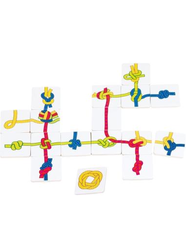 Sac noeuds Goki jeu stratégie logique labyrinthe materiel educatif pedagogique ecole chemin casse tete