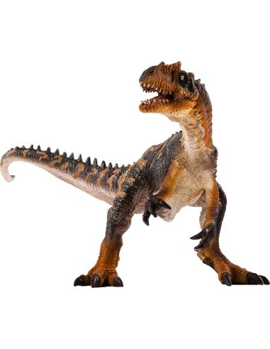 Figurine dinosaure Allosaure Mojo 387274 Matériel pédagogique Enrichissement Montessori Jouet Cartes maternelle science vocabula