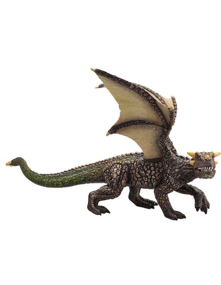 Figurine Dragon terre Mojo 387250 Matériel pédagogique Enrichissement Montessori Jouet Cartes maternelle science vocabulaire jeu