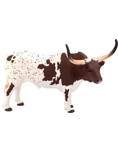 Figurine Taureau Longhorn Texas - Mojo 387222 Mojo {PRODUCT_REFERENCE}  Animaux de la ferme et domestiques - 1