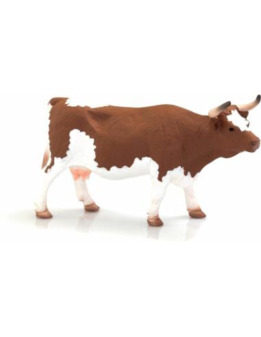 Figurine Vache Simmental - Mojo 387220 Mojo {PRODUCT_REFERENCE}  Animaux de la ferme et domestiques - 1