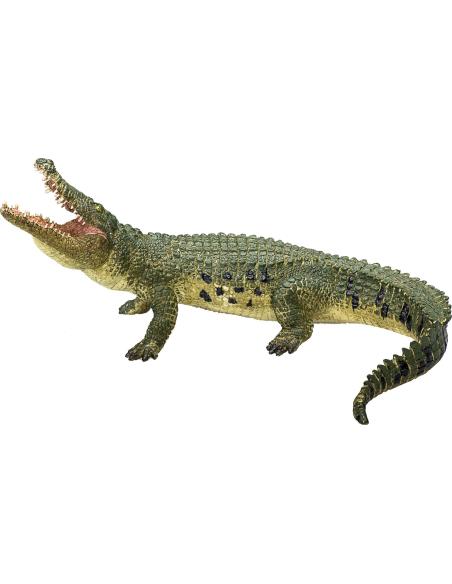Figurine Crocodile à mâchoire mobile Mojo 387162 Matériel pédagogique Enrichissement Montessori Jouet Cartes maternelle science