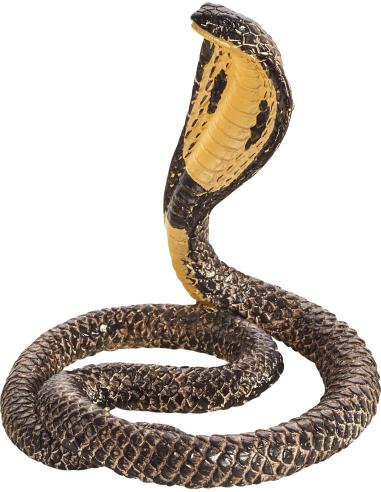 Figurine serpent Cobra Mojo 387126 Matériel pédagogique Enrichissement Montessori Jouet Cartes maternelle science vocabulaire je