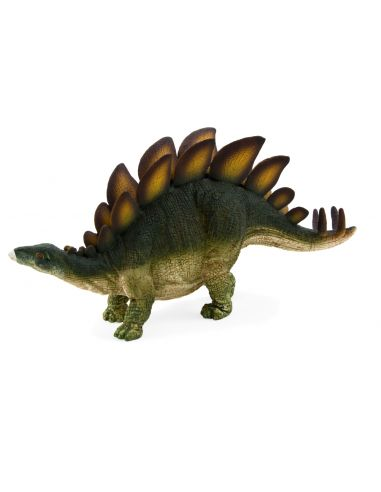 Figurine dinosaure Stégosaure Mojo 387043 Matériel pédagogique Enrichissement Montessori Jouet Cartes maternelle science vocabul