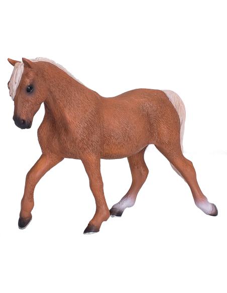 Figurine cheval Morgan Étalon brun Mojo 381021 Matériel pédagogique Enrichissement Montessori Jouet Cartes maternelle science vo