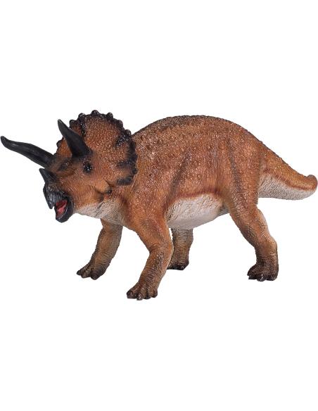 Figurine dinosaure Tricératops Mojo 381017 Matériel pédagogique Enrichissement Montessori Jouet Cartes maternelle science vocabu
