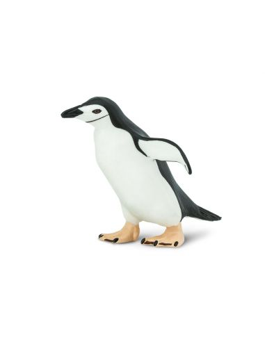 Figurine Manchot à jugulaire - Safari Ltd® 220429 Safari Ltd® {PRODUCT_REFERENCE}  Oiseaux - 4
