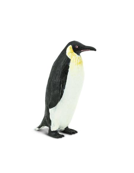 Figurine manchot Empereur Safari 276129 Matériel pédagogique Enrichissement Montessori Jouet Cartes maternelle science vocabulai