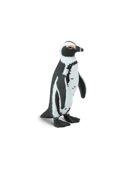 Figurine Manchot du cap Safari 204029 Matériel pédagogique Enrichissement Montessori Jouet Cartes maternelle science vocabulaire
