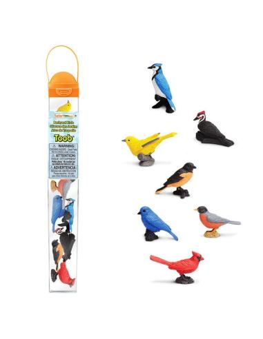 Figurines oiseaux - Tube Safari Ltd® 678304 Safari Ltd® 678304  Tubes et Toob® - 3