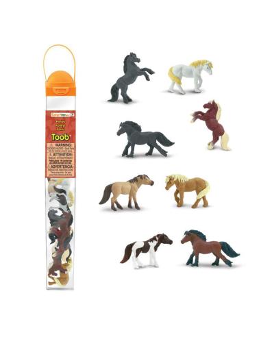 Figurines poneys - Tube Safari Ltd® 681104 Safari Ltd® 681104  Tubes et Toob® - 3