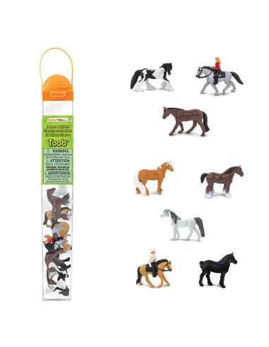 Figurines chevaux et cavaliers - Tube Safari Ltd® 679704 Safari Ltd® 679704  Tubes et Toob® - 3