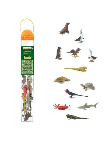 Figurines des îles Galapagos Amérique du Sud - Tube Safari Ltd® 681704 Safari Ltd® 681704  Tubes et Toob® - 3