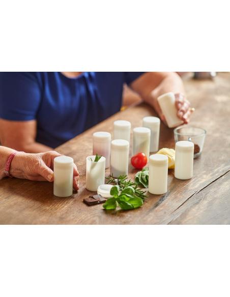Flacons odeurs pot odorat decouverte sens materiel pedagogique montessori educatif ecole maternelle activite maison