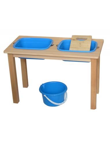Table lavoir Montessori 3-6ans materiel vie pratique laver classe maternelle mobilier scolaire