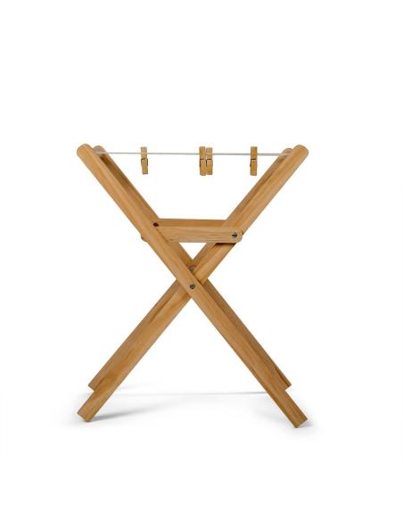 Etendoir pinces linge Séchoir cordes poupée enfant jouet bois imitation grand maison autonomie montricite pratique montessori