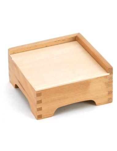 Rangement pour la tour rose Montessori mobilier classe maternelle accessoires pedagogique stand support