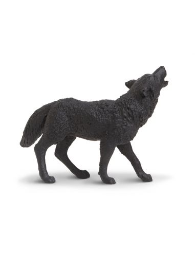 Figurine Loup Noir - Safari Ltd® 181129 Safari Ltd® {PRODUCT_REFERENCE}  Animaux sauvages - 4
